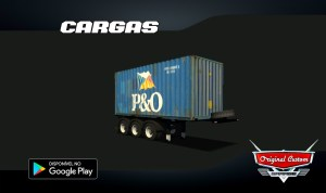 CONTRAINER 20 P&O- SKINS WTDS