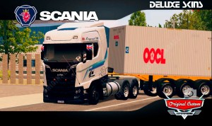 SKINS WORLD TRUCK DRIVING – SCANIA S V8 CONTRAINER