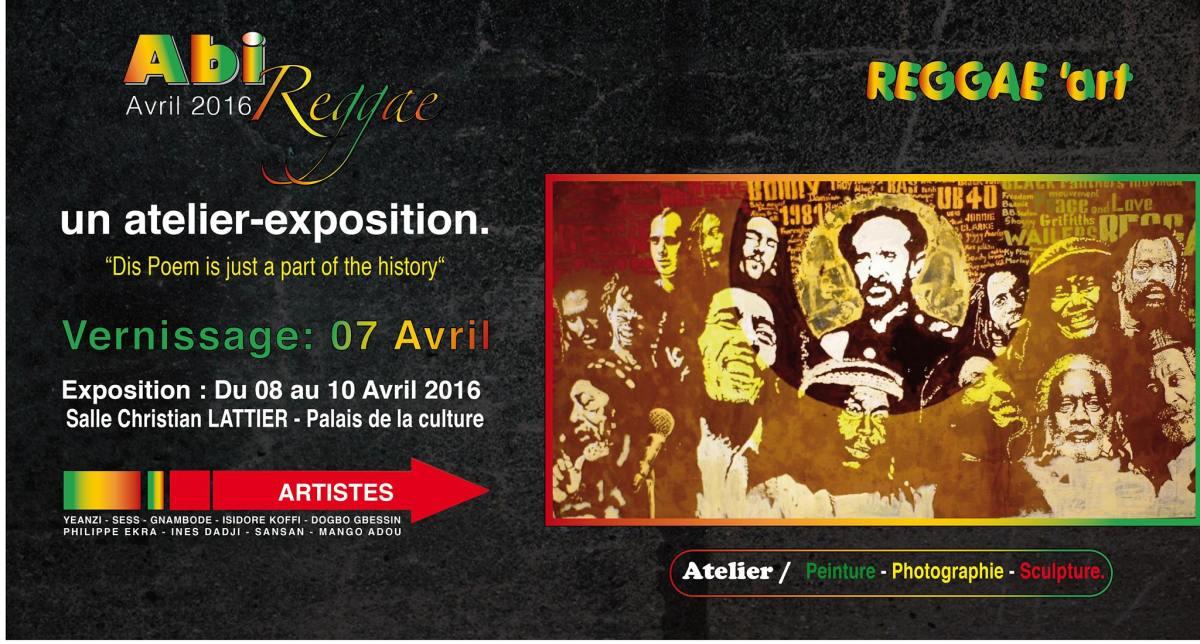 AbiReggae Art - Exposition d'arts visuels consacrée au Reggae et à la culture Rastafari