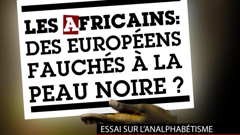 «Les Africains : Des Européens fauchés à la peau noire ?»  extrait de Les 26 Lettres de l'Affamé de Kwmenan