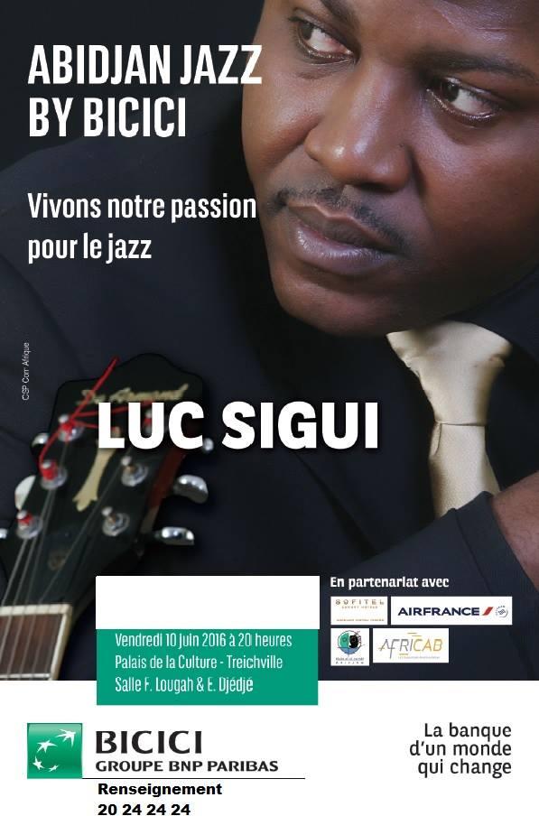 Abidjan Jazz by BICICI : Retour sur le concert de Luc Sigui