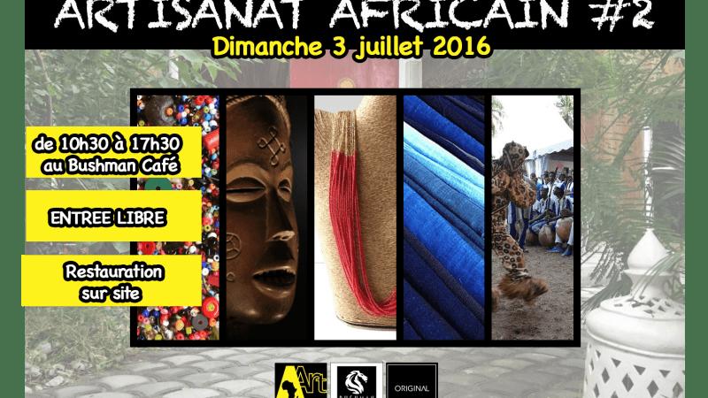 Exposition Vente Artisanat Africain – Présentation de quelques artisans présents ce dimanche 3 juillet 2016 (2)