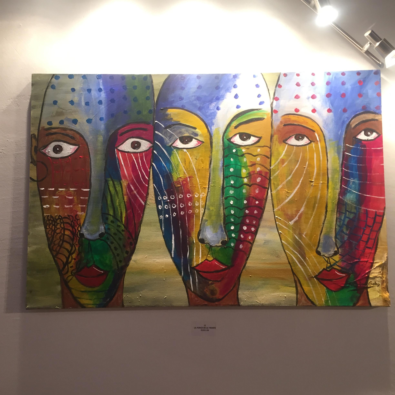 Vernissage de Both of Us de Pierre Antoine Goho à la Galerie Houkami