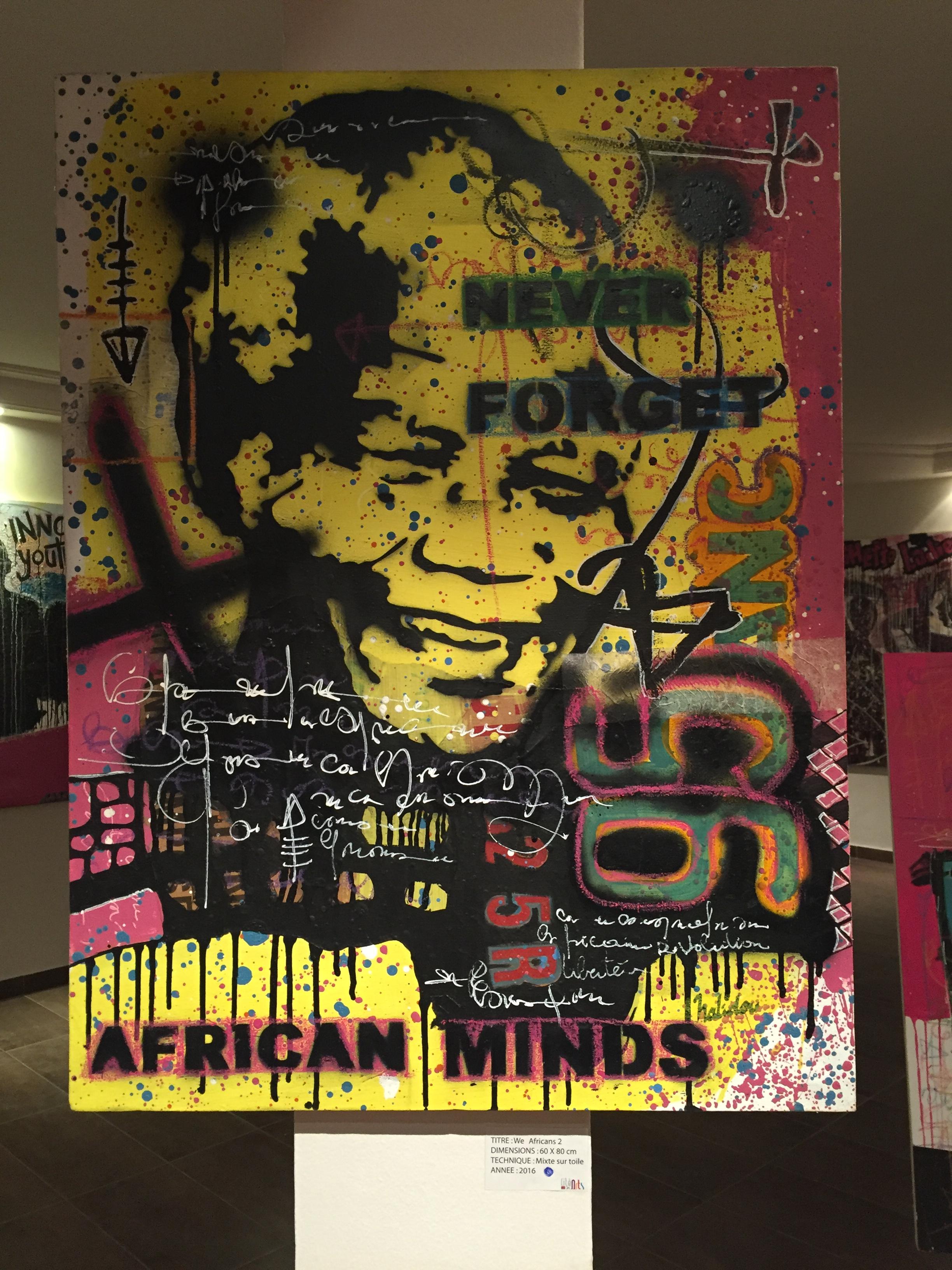 «We Africans» by Halidou lors de «Cités des Arts» jusqu'au 12 novembre 2016 au Bao Café