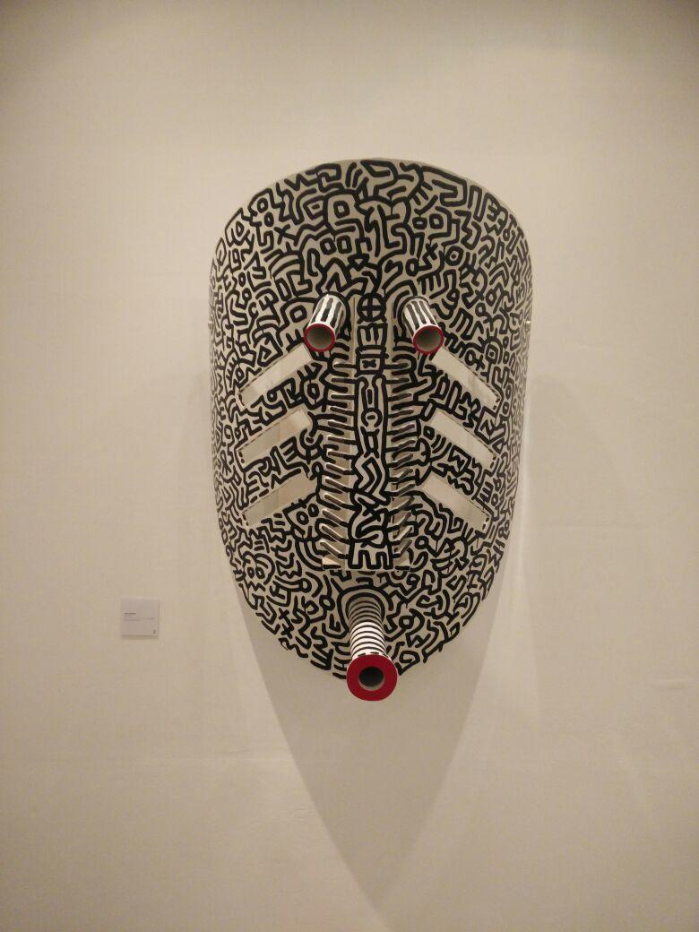 Masque Scarifié - Fondation Zinsou -Crédit Photo : Wilfrid Codo