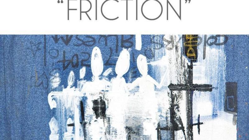 « Friction » Expo de Sess Essoh pour Cité des Arts #2, du 25 janvier au 25 février 2017 au Bao Café