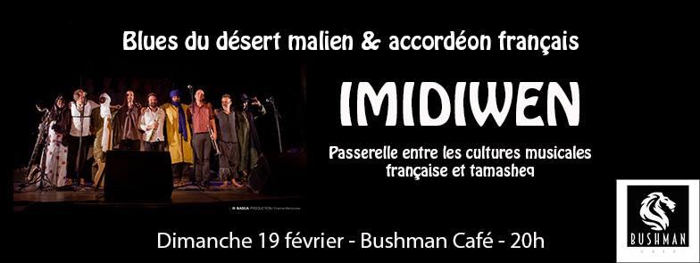 IMIDIWEN : concert musical qui se tiendra les 18 et 19 février 2017 à Abidjan