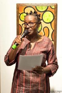 """Aya N'Da - """"Exubérance Afro-Caraïbe"""", une exposition de peinture de Aya N'da et Prisca Toulon du 03 au 24 mars 2017 à la bibliothèque Schoelcher de Fort-de-France (Martinique)"""