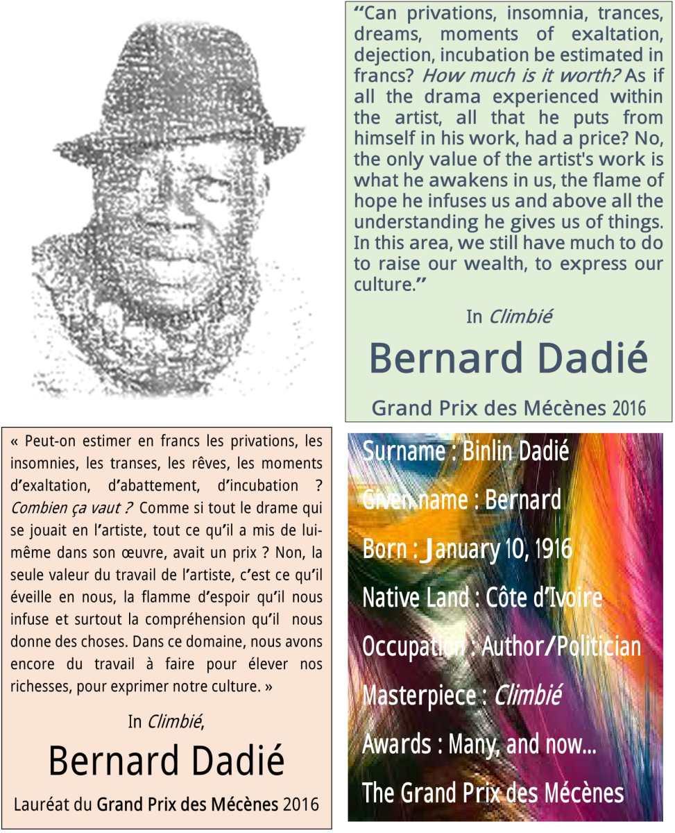 Souhaitons Un Joyeux Anniversaire A Bernard Bilin Dadie Qui Celebre
