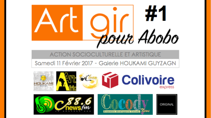 ArtGir pour Abobo – Première édition de l'action socioculturelle et artistique ArtGir – le 11 février 2017 à la Galerie Houkami Guyzagn
