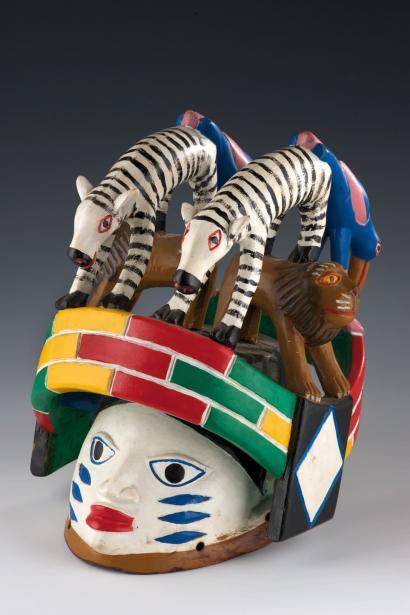 Les masques Guèlèdè du Bénin