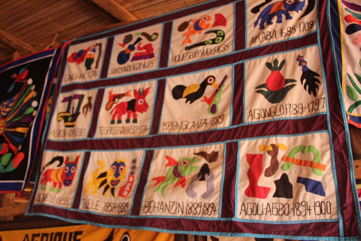 Les 12 rois principaux du Royaume Danxomé