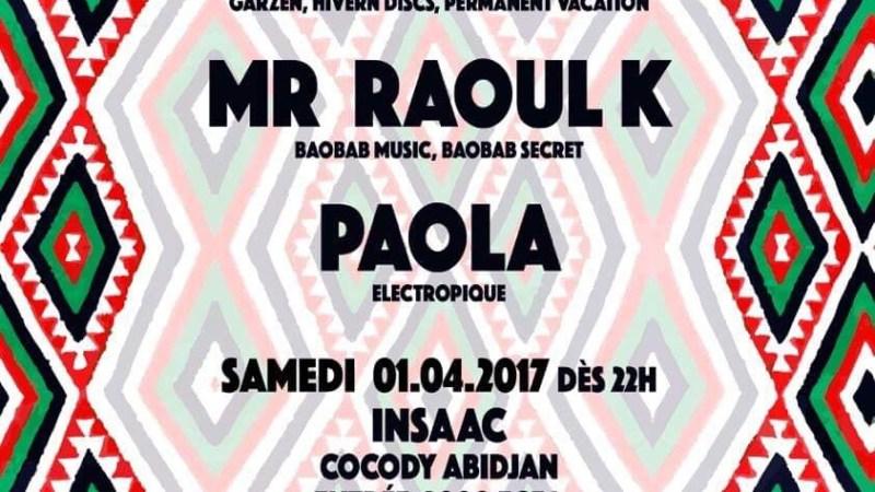 Electropique #8 avec Red Axes et Mr Raoul K ce samedi 1er avril 2017 à l'INSAAC (Abidjan)