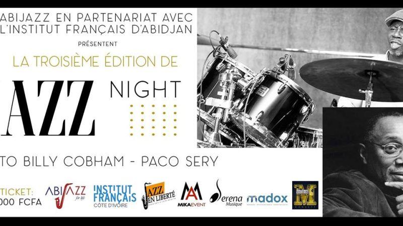 [JAZZ] Ivoire Jazz Night 3 ce 29 avril 2017 à l'Institut Français de Côte d'Ivoire avec ABIJAZZ