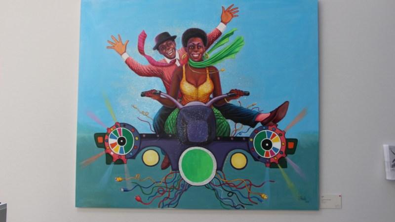 [Art Paris Art Fair – L'Afrique à l'honneur] – Shula – coup de coeur Peinture de Originvl