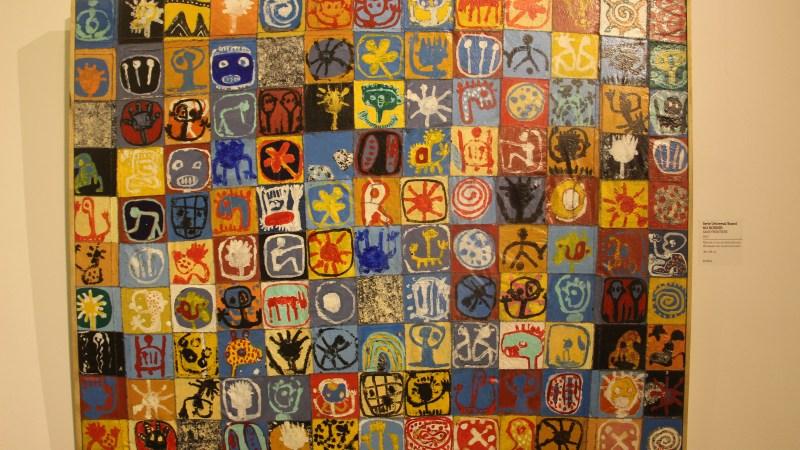 Universal Board de Méné, mon coup de coeur de l'exposition ' No Border '