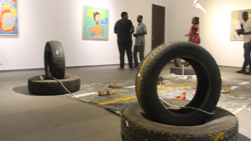No Border, an exhibition that highlights the mobility issue