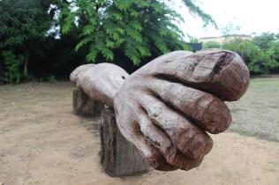Terre d'Origine de Jems Koko Bi à la Fondation Donwahi