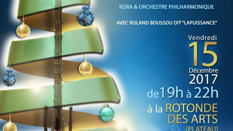 Choeur de Kora – Concert de Noël ce vendredi 15 décembre 2017 à 19h à La Rotonde des Arts