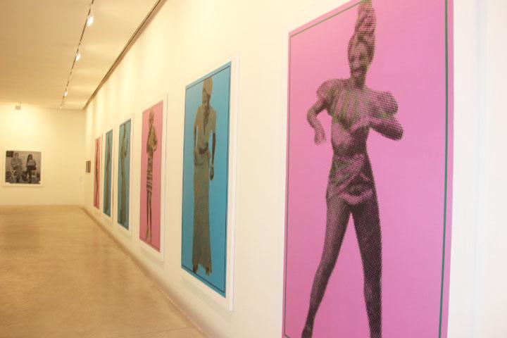 Que reste-t-il de nos amours ? de Vincent Michea à la Galerie Cecile Fakhoury Abidjan
