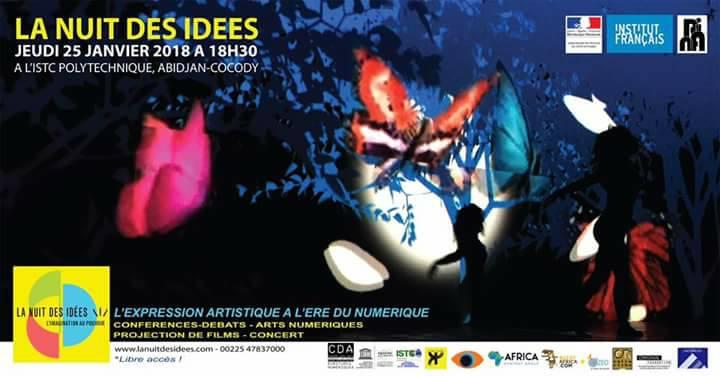 La Nuit des idées se tiendra pour la première fois à Abidjan ce 25 janvier 2018