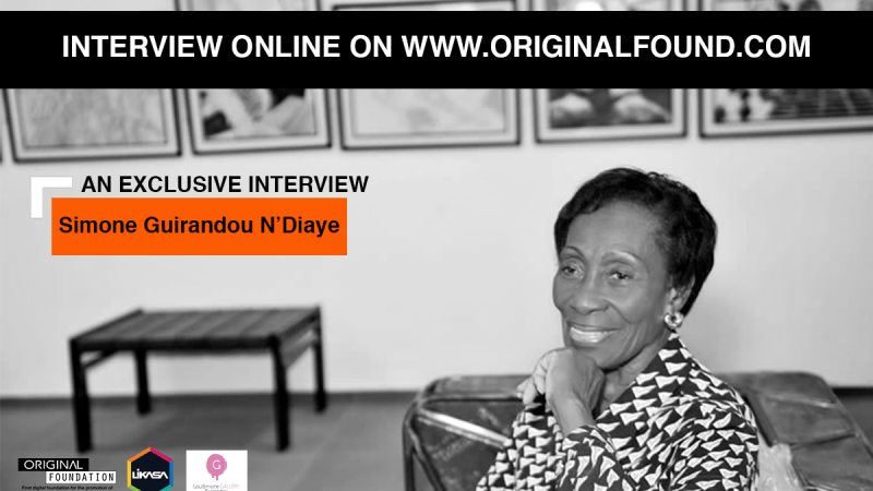 Let's discover the exclusive interview of Simone Guirandou N'Diaye an Art Contemporary pioneer