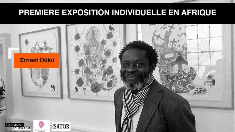 Ernest Dükü, un des artistes ivoiriens les mieux connus à l'International