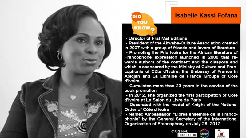 Did you know? : Let's discover Isabelle Kassi Fofana