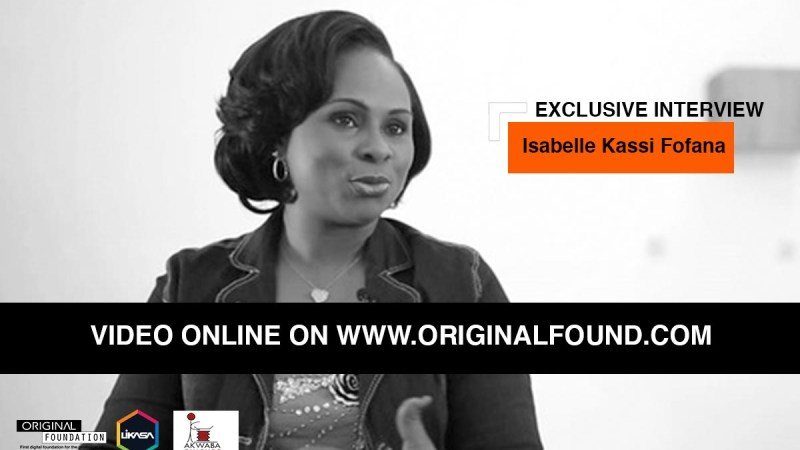 Let's discover the interview of Isabelle Kassi Fofana, an Ambassador of African Literature