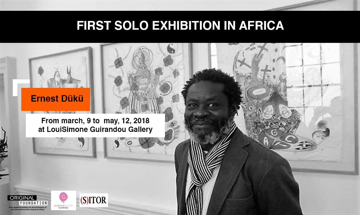 Ernest Dükü between African symbols, cultures and mythologies