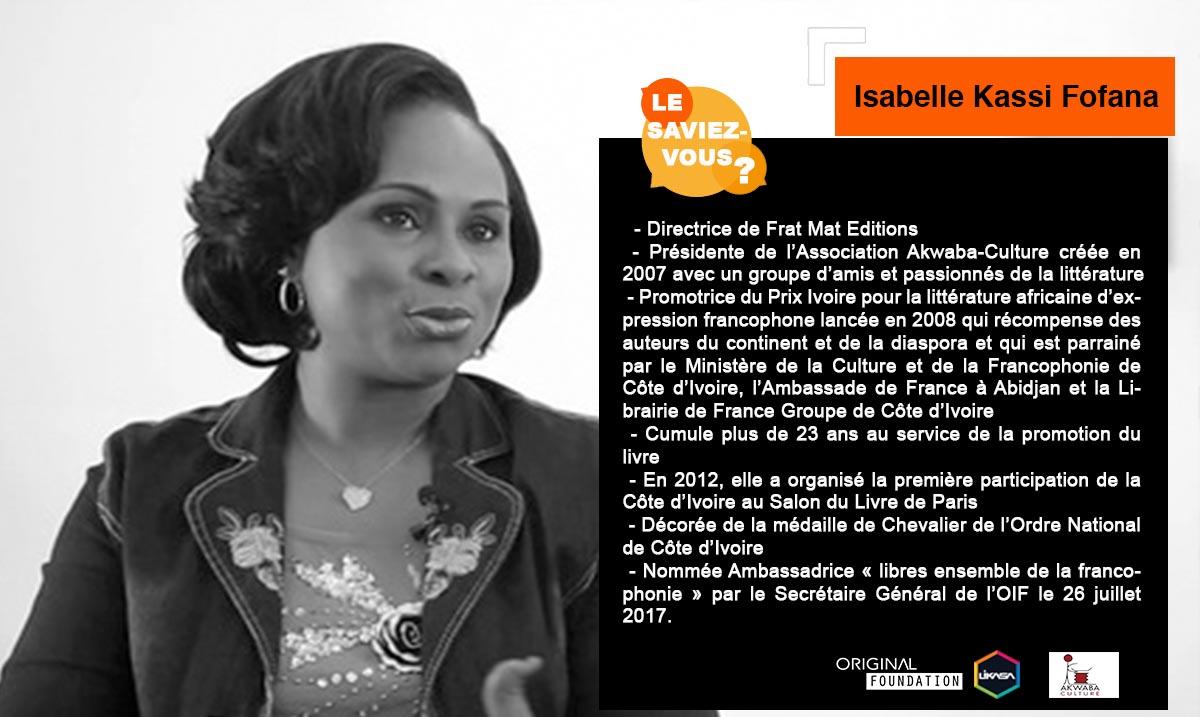 Le Saviez-vous ? : Découvrons Isabelle Kassi Fofana