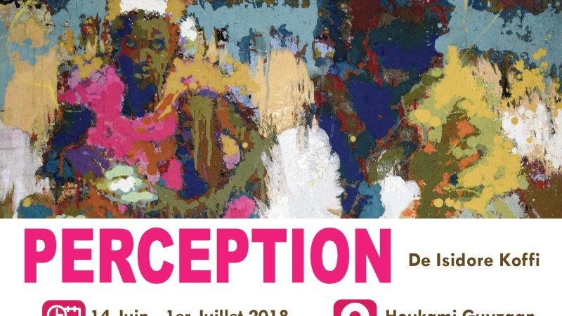 » Perception  » de Isidore Koffi, un regard sur la ville