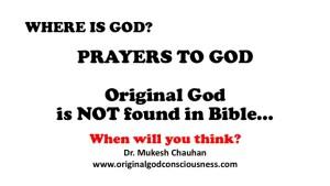 Original God and Bible