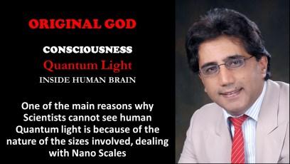Consciousness and human Quantum Light