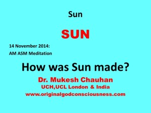 How was Sun made