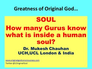 Soul evlusive to Gurus