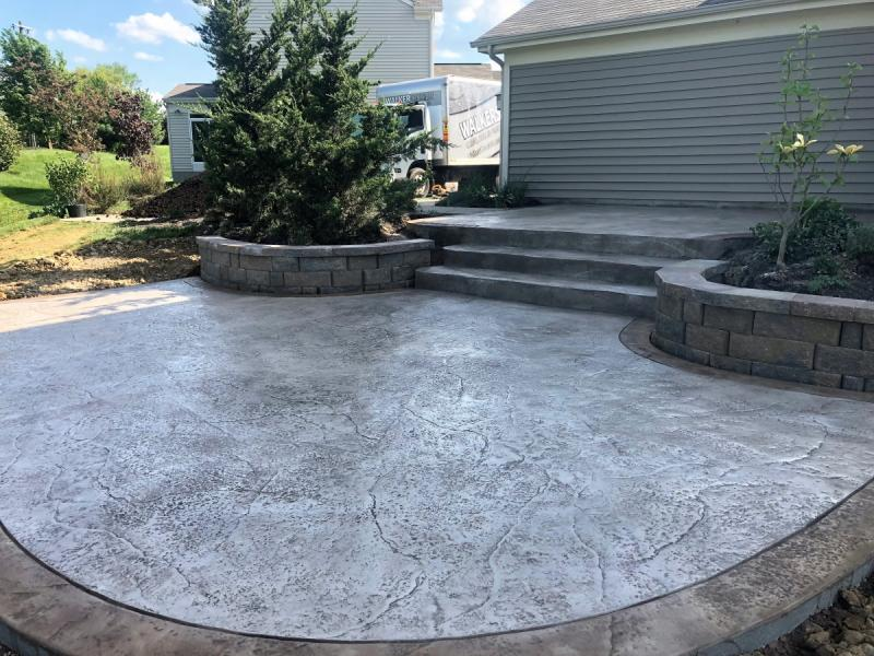stamped concrete patio dc stamped