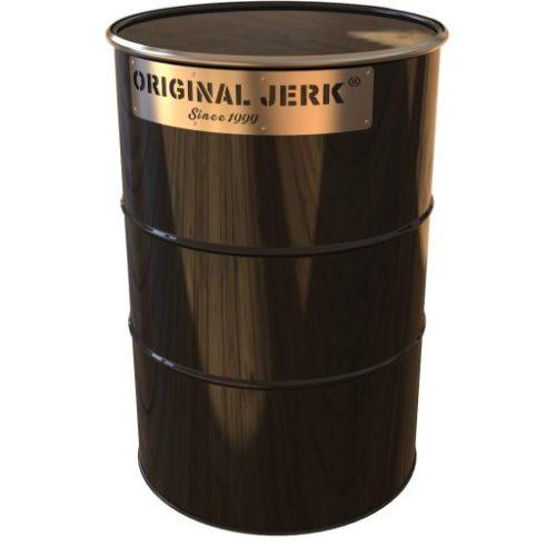 vert oil drum bbq