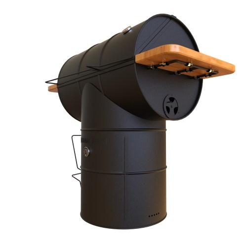 T bone oil drum jerk pan BBQ