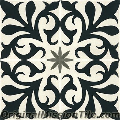 Cement Tile Nantes Design Original Mission Tile