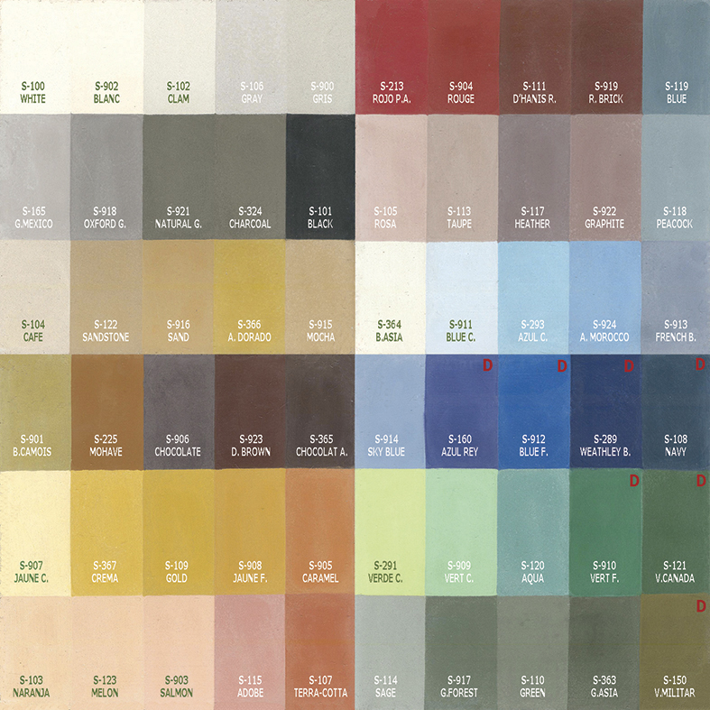cement tiles colors palette