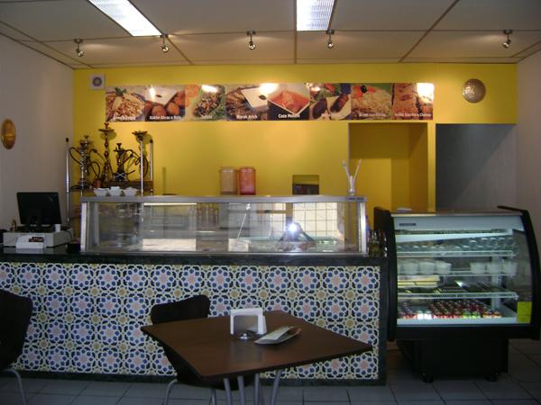 Cement Tiles El Emir Restaurante