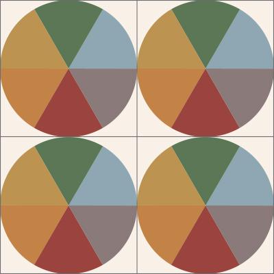 mosaico de pasta