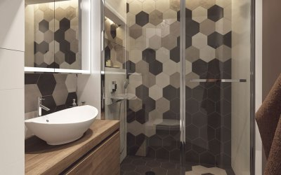 Mind Blowing Ideas for Hexagon Tile Bathroom Floor