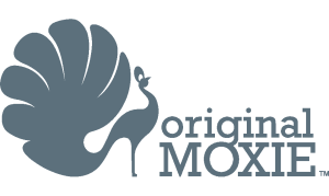 Original Moxie Logo - Grey