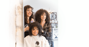 The curly hair experts at the Original Moxie Salon can help you have beautiful hair.