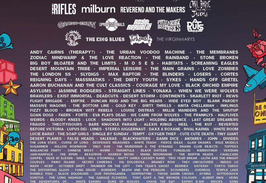 Camden Rocks announce stage times