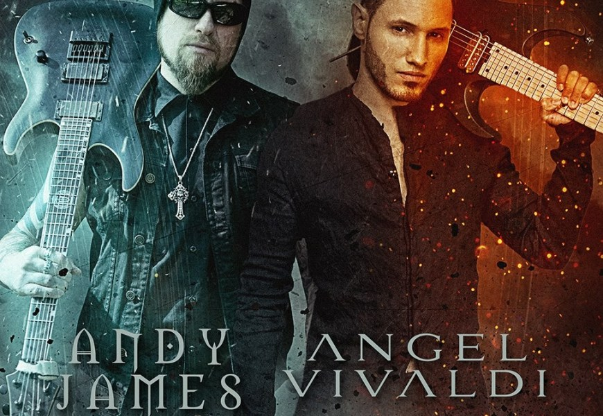 Andy James and Angel Vivaldi announce co-headline tour