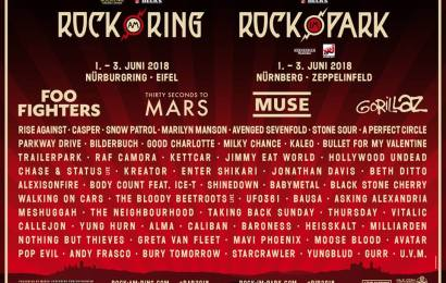 Rock am Ring 2018 announce Muse, Snow Patrol and more!