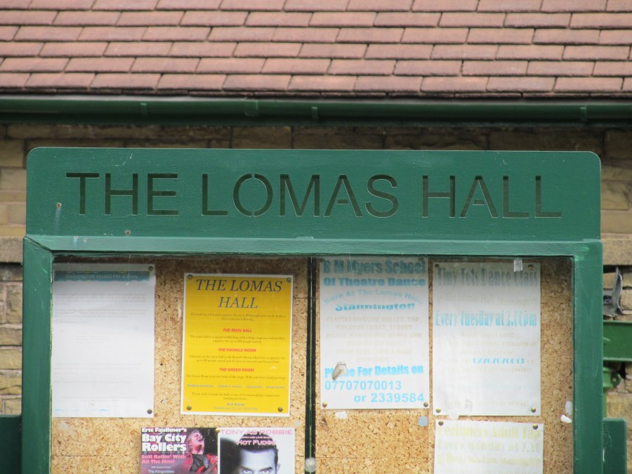The Lomas Hall, UK Convention venue. Photograph by Linda Thomas.